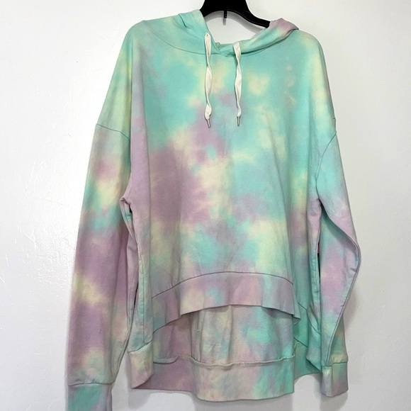 Wild Fable tie dyed pullover hoodie size XL
